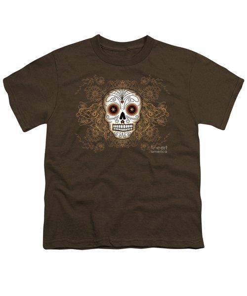 Vintage Sugar Skull Youth T-Shirt
