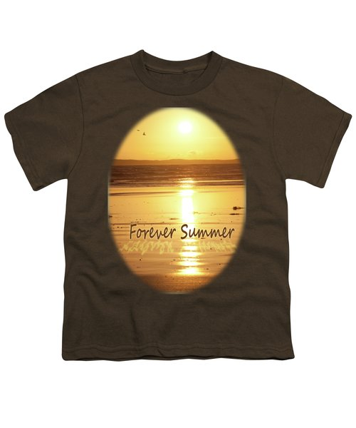 Youth T-Shirt featuring the photograph Forever Summer 4 by Linda Lees