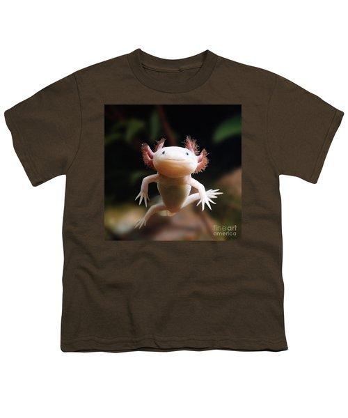 Axolotl Face Youth T-Shirt