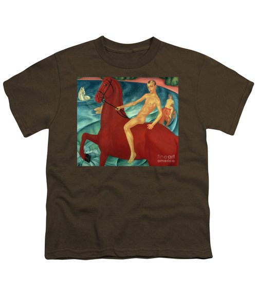 Bathing Of The Red Horse Youth T-Shirt by Kuzma Sergeevich Petrov-Vodkin
