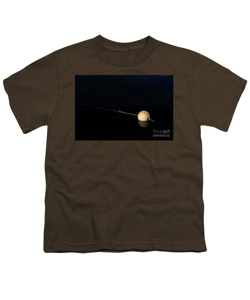 Youth T-Shirt featuring the photograph Buoy At Night by Stephen Mitchell