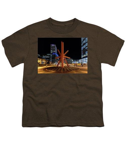 Calling After Sundown Youth T-Shirt by Randy Scherkenbach