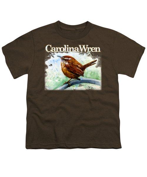 Carolina Wren Shirt Youth T-Shirt