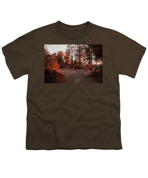 Choose The Road Less Travelled Youth T-Shirt