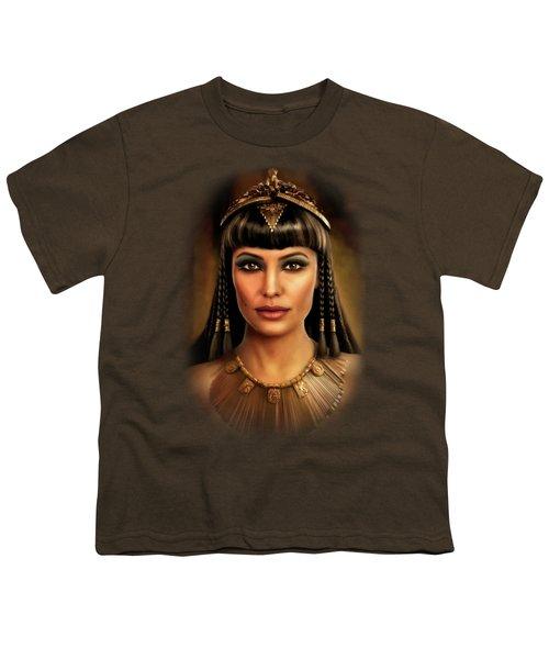 Cleopatra Youth T-Shirt by Joe Roberts