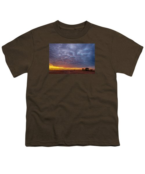Youth T-Shirt featuring the photograph Country Living by Sebastian Musial