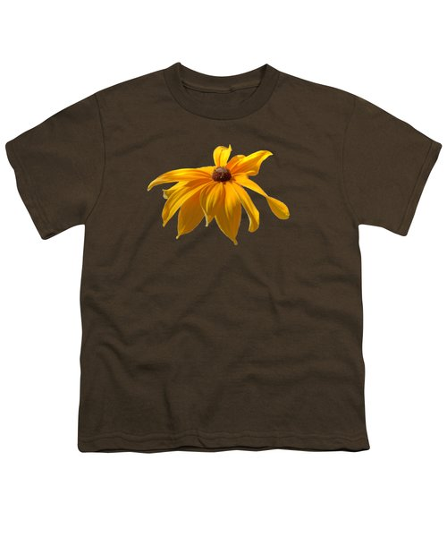Daisy - Flower - Transparent Youth T-Shirt