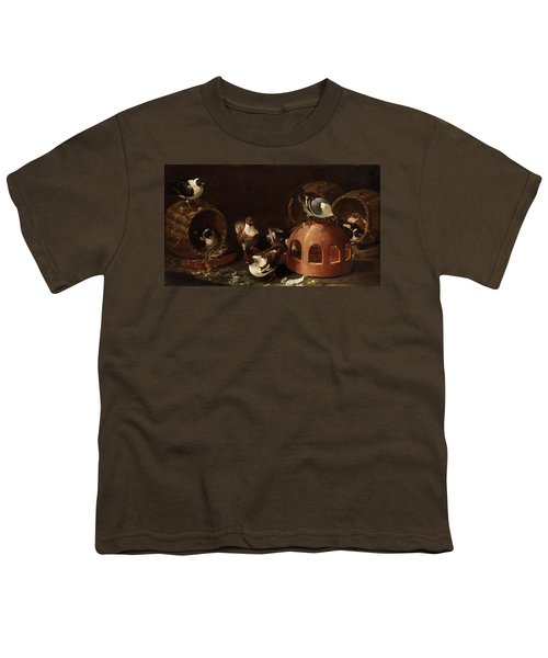 Deaf Between Feed Trough And Baskets Youth T-Shirt