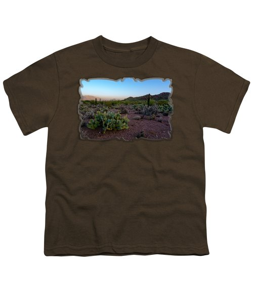 Desert Foothills H29 Youth T-Shirt by Mark Myhaver
