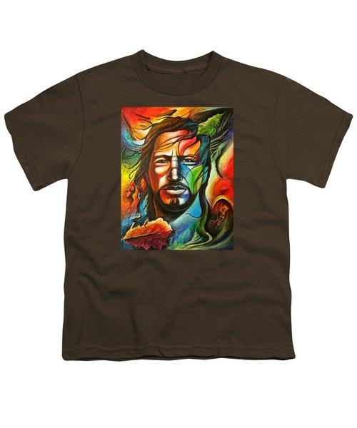Eddie Vedder Youth T-Shirt by Robert Stokley