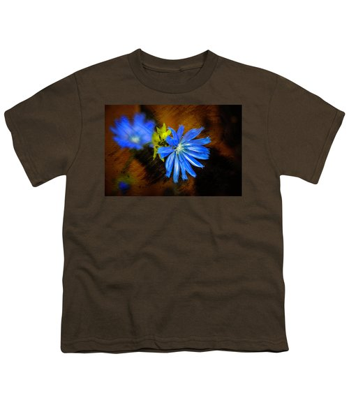 Electric Blue Youth T-Shirt