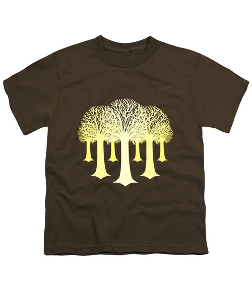 Electricitrees Youth T-Shirt by Freshinkstain
