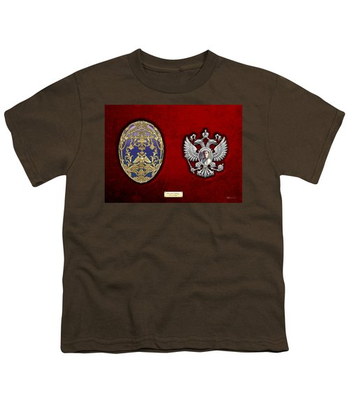 Faberge Tsarevich Egg With Surprise Youth T-Shirt