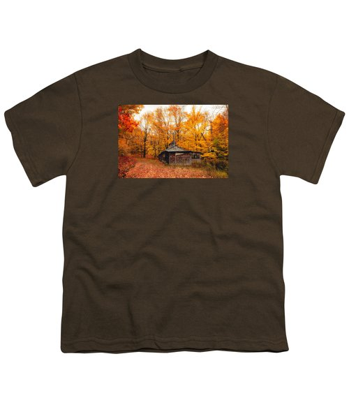 Fall At The Sugar House Youth T-Shirt