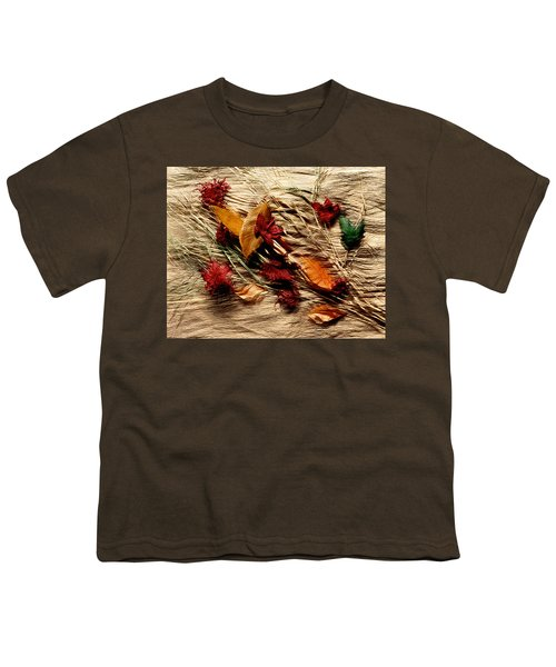 Fall Foliage Still Life Youth T-Shirt