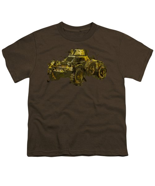 Ferret Scout Car Youth T-Shirt