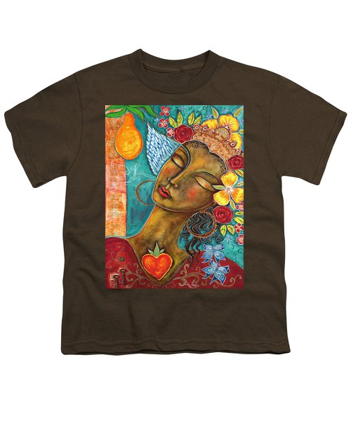 Finding Paradise Youth T-Shirt by Shiloh Sophia McCloud