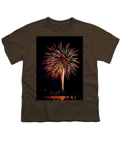 Fireworks Youth T-Shirt by Bill Barber