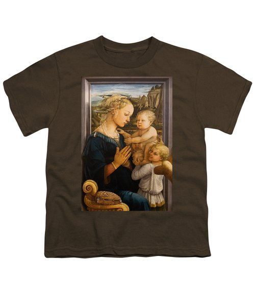 Florence - Madonna And Child With Angels- Filippo Lippi Youth T-Shirt