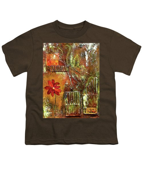 Flowers Grow Anywhere Youth T-Shirt