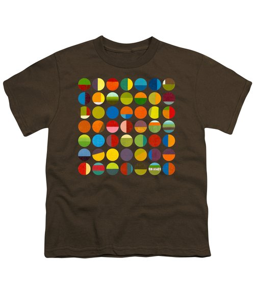 Forty Nine Circles Youth T-Shirt by Michelle Calkins
