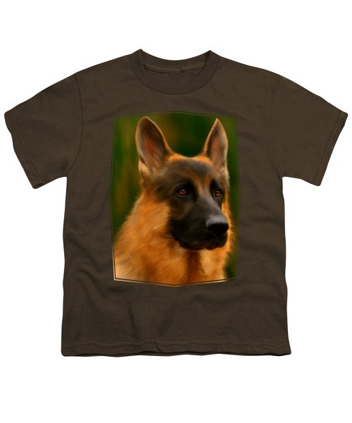 German Shepherd Youth T-Shirt