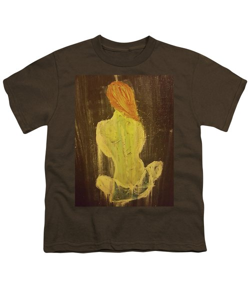 Silence Youth T-Shirt by Jennifer Meckelvaney