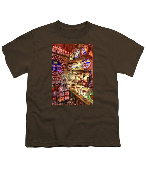 Globes Of The Past Youth T-Shirt