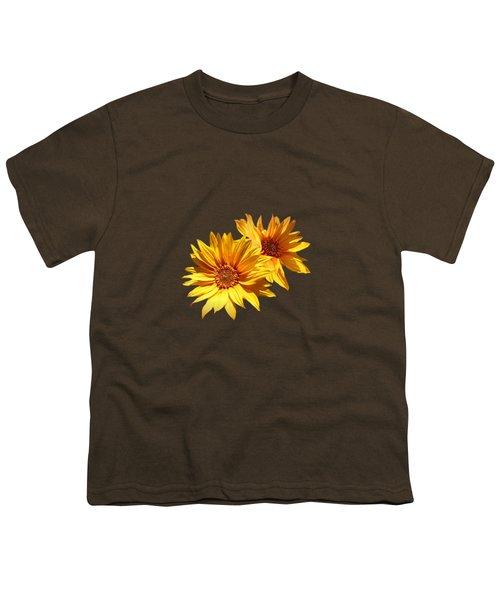 Golden Sunflowers Youth T-Shirt