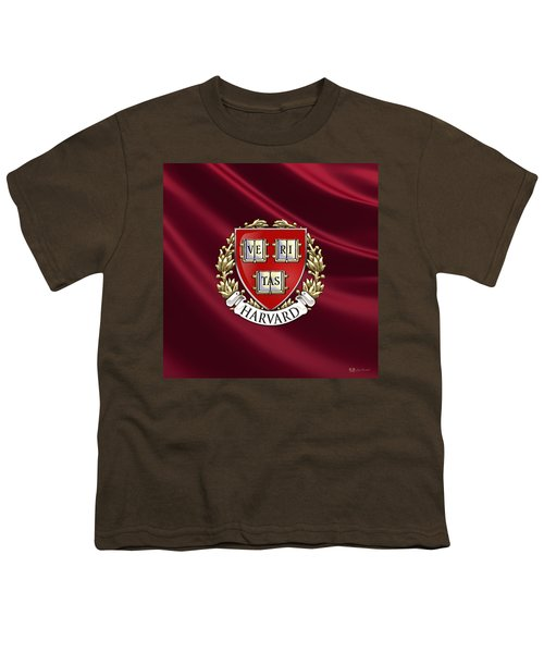 Harvard University Seal Over Colors Youth T-Shirt