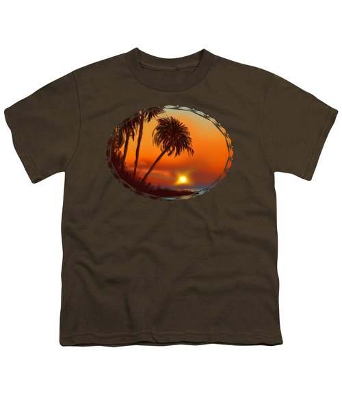 Hawaiian Sunset Youth T-Shirt