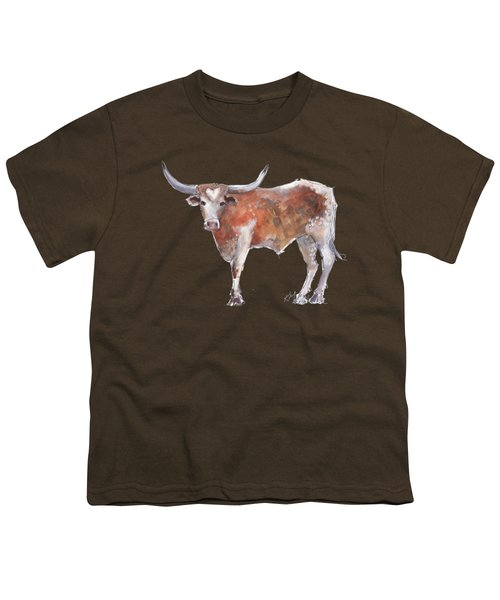 Heart Of Texas Longhorn Youth T-Shirt