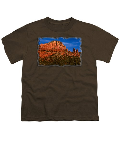 Her Majesty Youth T-Shirt by Mark Myhaver