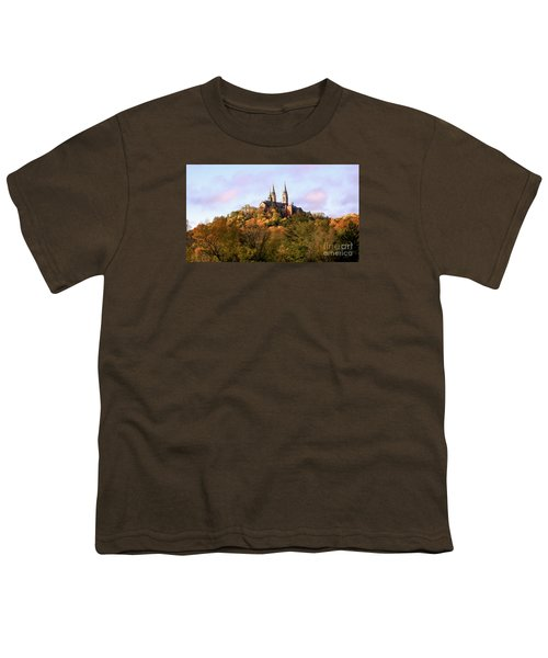 Youth T-Shirt featuring the photograph Holy Hill Basilica, National Shrine Of Mary by Ricky L Jones