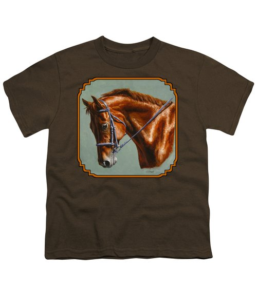 Horse Painting - Focus Youth T-Shirt