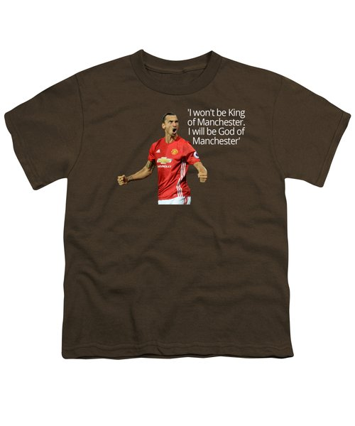 Ibrahimovic Youth T-Shirt by Vincenzo Basile