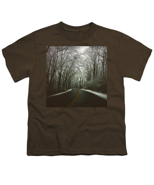 The Road Less Traveled  Youth T-Shirt