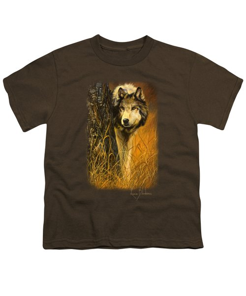 Interested Youth T-Shirt by Lucie Bilodeau