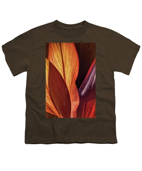 Interweaving Leaves I Youth T-Shirt