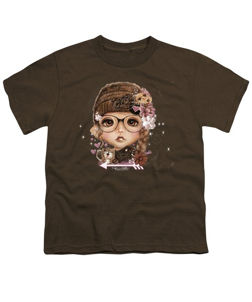 Java Joanna Youth T-Shirt by Sheena Pike
