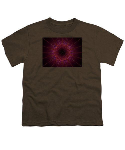 The Violet Blessings Of The Crown Chakra Youth T-Shirt