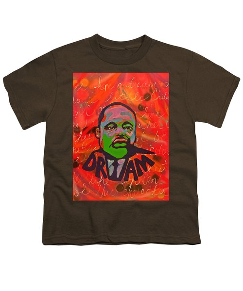 King Dreaming Youth T-Shirt by Miriam Moran