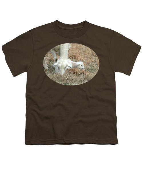 L Is For Lamb Youth T-Shirt by Anita Faye