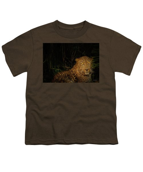 Leopard Hiding Youth T-Shirt