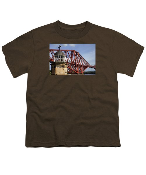Youth T-Shirt featuring the photograph Light Tower by Jeremy Lavender Photography