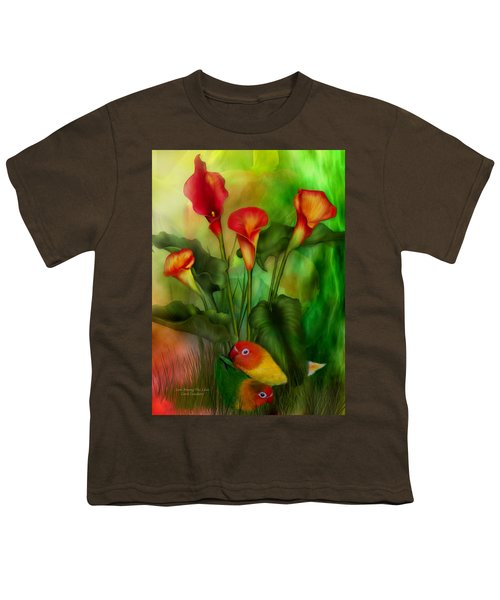 Love Among The Lilies  Youth T-Shirt