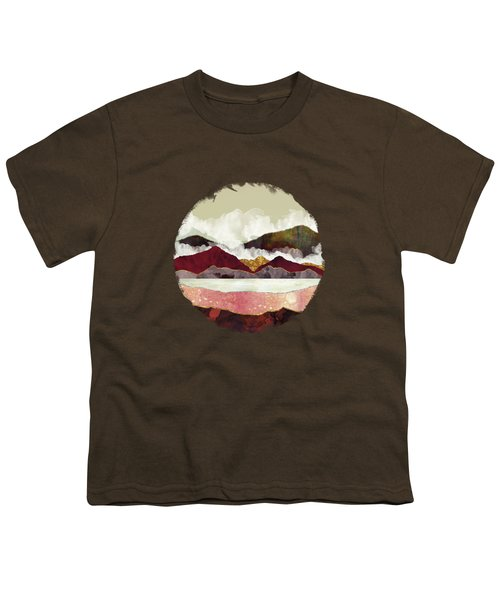 Melon Mountains Youth T-Shirt by Katherine Smit