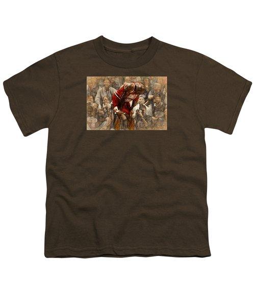 Michael Jordan The Flu Game Youth T-Shirt
