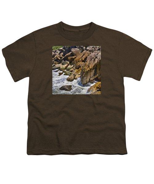 Brazilian Sea Cliffs - Guaruja - Sao Paulo Youth T-Shirt