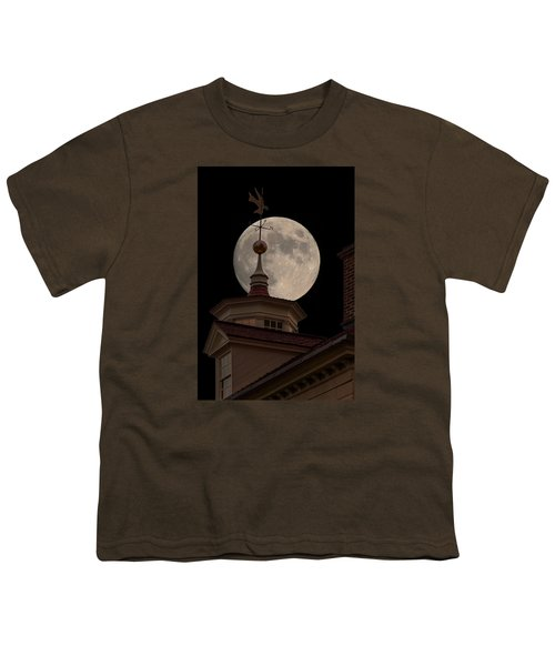 Moon Over Mount Vernon Youth T-Shirt